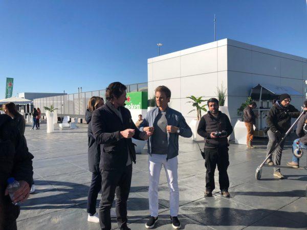 Nico Erik Rosberg - Erik Johann Van Wyk - Heineken Shoot